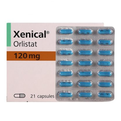Ксеникал капсулы 120 мг, 21 шт.