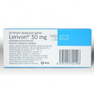 Леривон таблетки 30 мг, 20 шт.