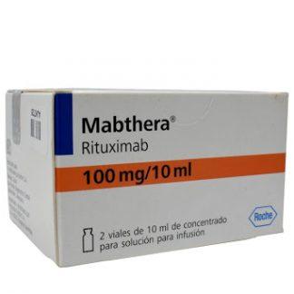 Мабтера конц. для пригот. р-ра для инфузий 100 мг/10 мл флакон, 2 шт.