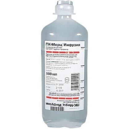 ПК-Мерц флаконы 200 мг, 500 мл, 2 шт.