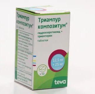 Триампур композитум таблетки 50 шт.