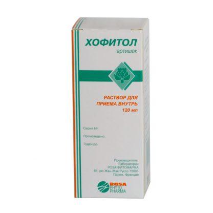 Хофитол флаконы 200 мг/мл, 120 мл