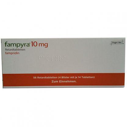 Фампира (Фампридин) таблетки 10мг, 56 шт.