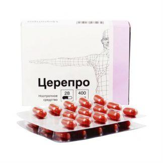 Церепро капсулы 400 мг, 28 шт.