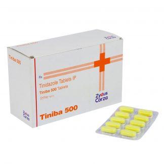 Тиниба (Тинидазол) 500 мг. / Tiniba 500 mg., 10 шт.