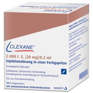 Клексан (Clexane) 2000 (0,2 мл)