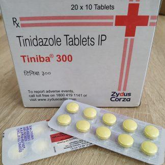Тиниба (Тинидазол) 300 мг. / Tiniba 300 mg., 10 шт.